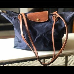 Longchamp Large Le Pliage large tote